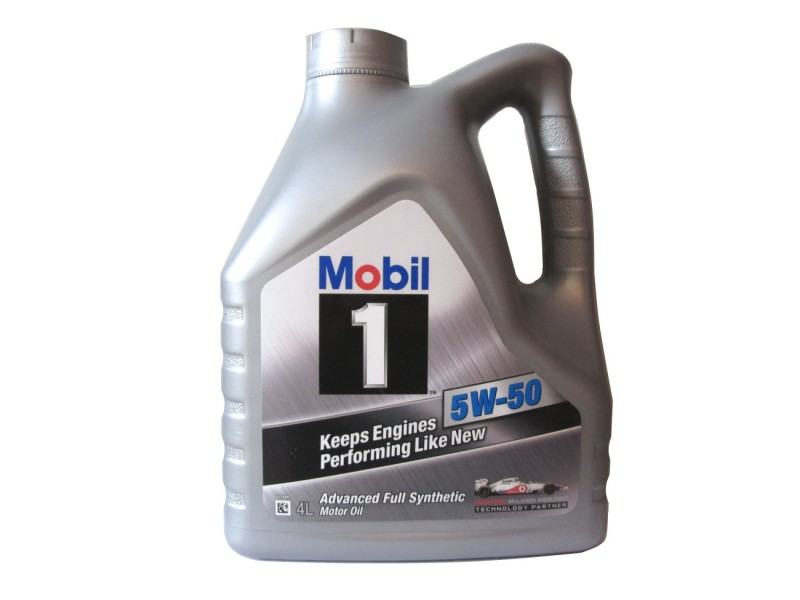 Масло Mobil 1 5w50 4 л NEW