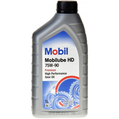 Масло Mobil HD 75w90 Масло трансмис. 1л