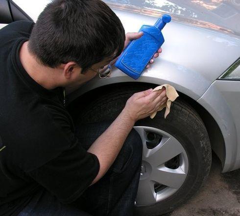 Чем снять чужую краску с автомобиля